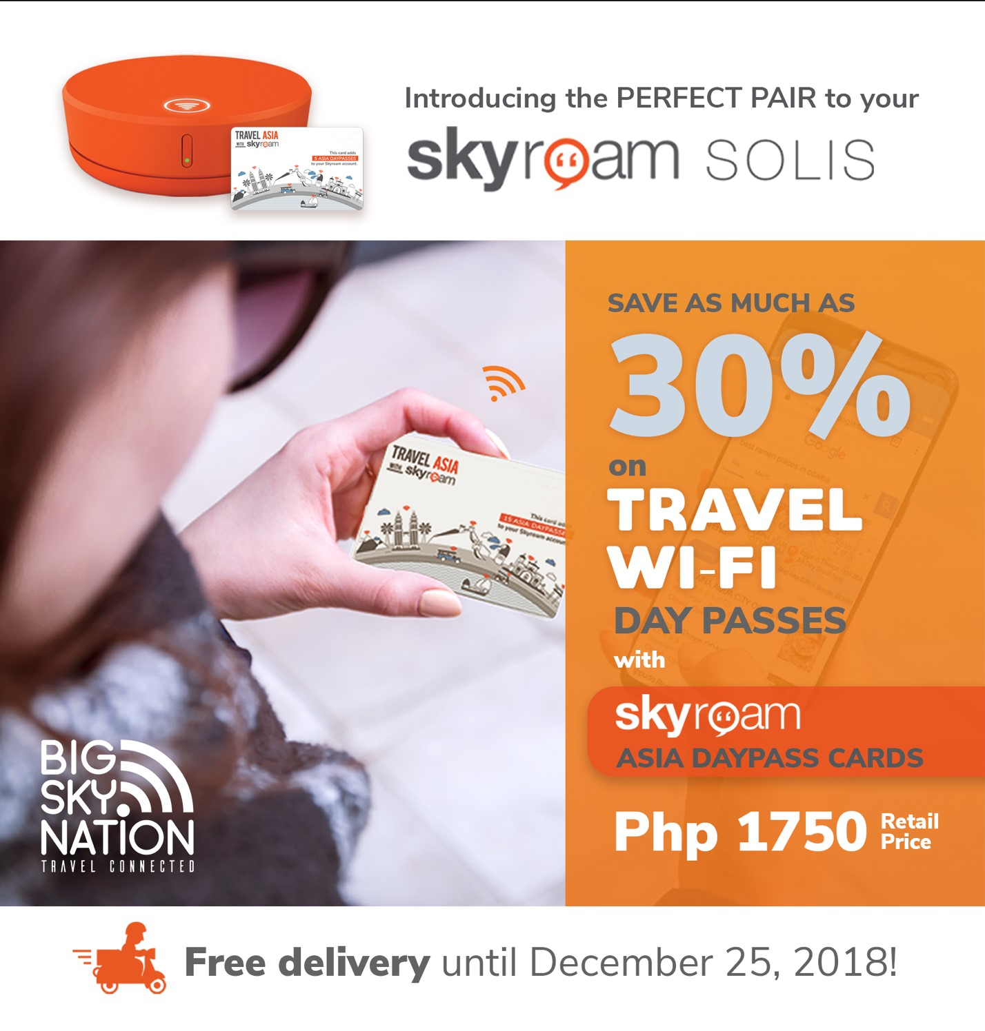 Introducing the Skyroam Asia Day Pass Cards